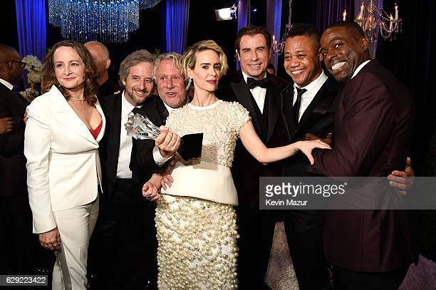 Nina Jacobson Scott Alexander Larry Karaszewski Sarah Paulson John Travolta Cuba Gooding Jr and Sterling K Brown attend The 22nd Annual Critics'...