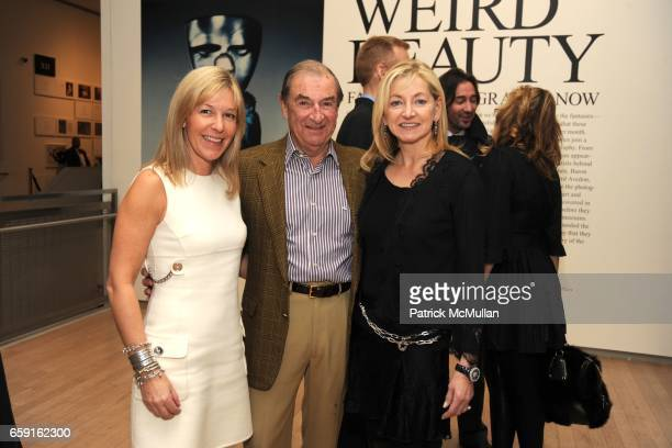 Nina Lawrence Jon Schumacher and Barbara Cirkva attend W MAGAZINE Celebrates 'Weird Beauty Fashion Photography Now' at ICP on February 18 2009 in New...