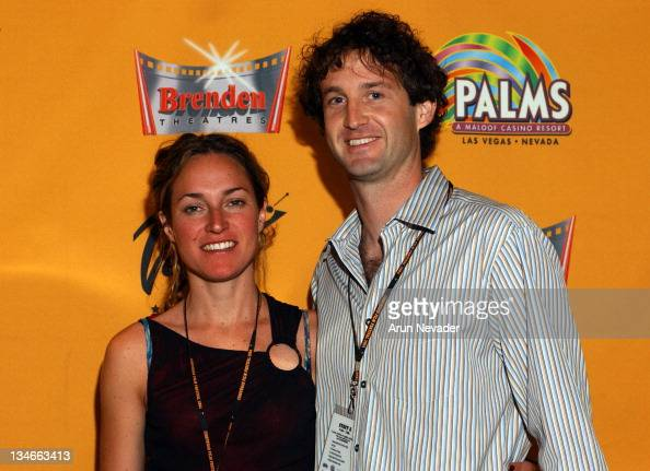 Nina Martinek director of 'The Dock' with Trevor Groth Programming Director of the CineVegas Film Festival