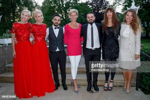 Nina Meise Julia Meise Mahmood Al Salim Rosalie von LandsbergVelen Jwam Al Salim Pamela Falcon and Mara Bergmann during the Balve Optimum...