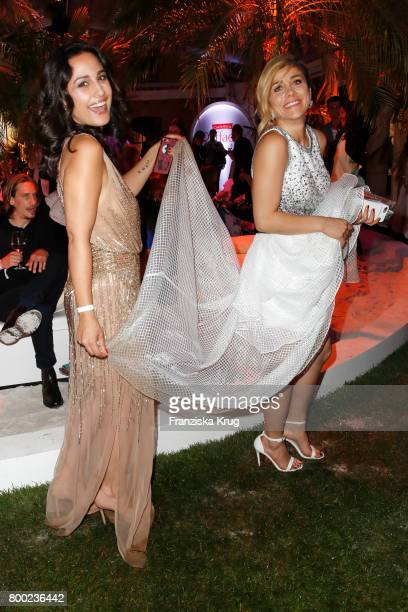 Nina Moghaddam and Panagiota Petridou attend the Raffaello Summer Day 2017 to celebrate the 27th anniversary of Raffaello on June 23 2017 in Berlin...