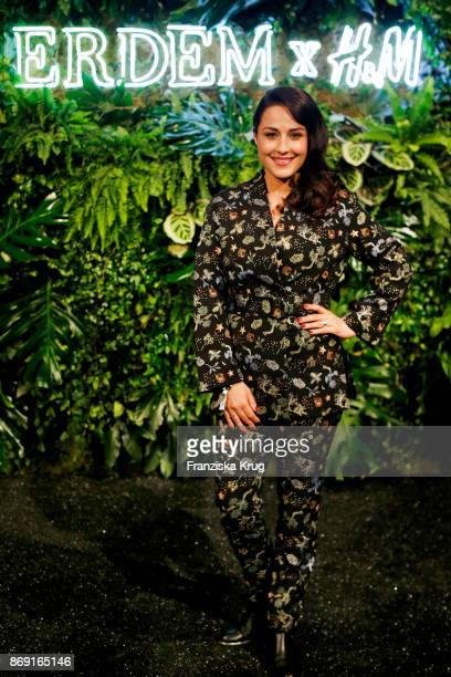 Nina Moghaddam attends the ERDEM x HM PreShopping Event on November 1 2017 in Berlin Germany
