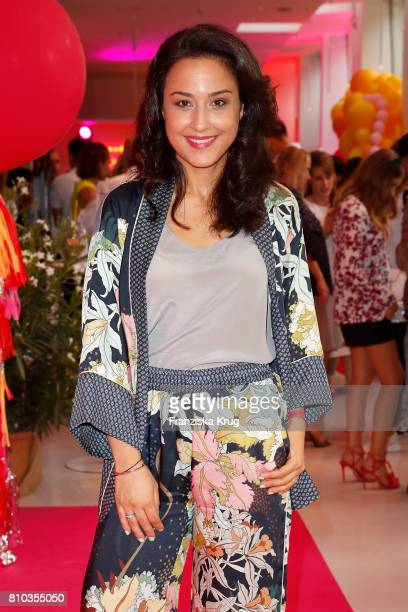 Nina Moghaddam attends the Gala Fashion Brunch during the MercedesBenz Fashion Week Berlin Spring/Summer 2018 at Ellington Hotel on July 7 2017 in...