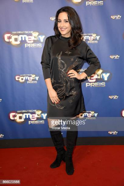 Nina Moghaddam attends the German Comedy Awards at Studio in Koeln Muehlheim on October 24 2017 in Cologne Germany