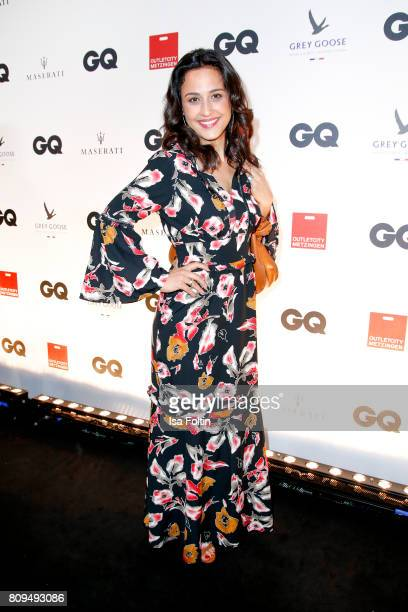 Nina Moghaddam attends the GQ Mension Style Party 2017 at Austernbank on July 5 2017 in Berlin Germany