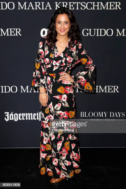 Nina Moghaddam attends the Guido Maria Kretschmer Fashion Show Autumn/Winter 2017 presented by OTTO at Tempodrom on July 5 2017 in Berlin Germany