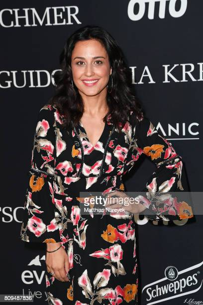 Nina Moghaddam attends the Guido Maria Kretschmer Fashion Show Autumn/Winter 2017 at Tempodrom on July 5 2017 in Berlin Germany