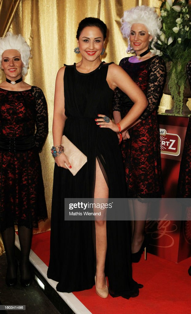 Nina Moghaddam attends the 'Lambertz Monday Night' at 'Alter Wartesaal' on January 28, 2013 in Cologne, Germany.