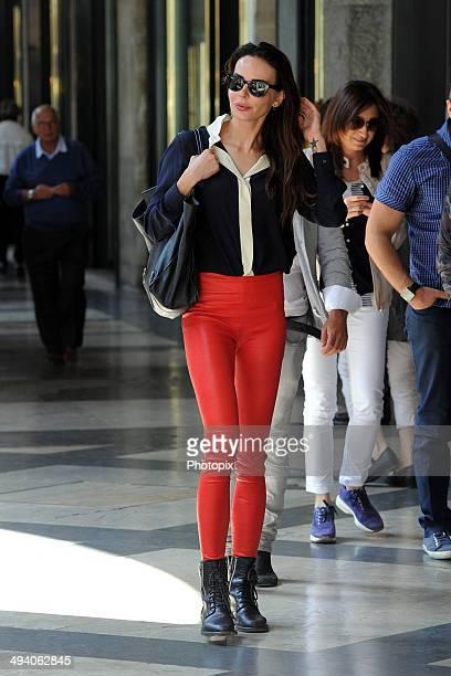 Nina Moric is seen on May 27 2014 in Milan Italy