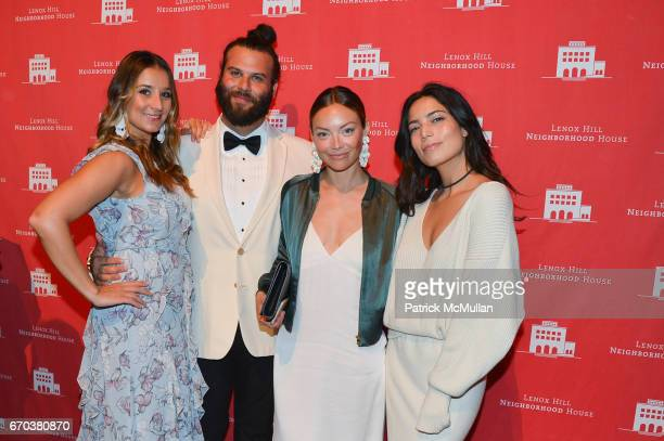 Nina Nash Jared Hughes Christen Giorgi and Arianne Deburro attend LHNH honours Geoffrey Bradfield and John Manice at Cipriani 42nd Street on April 18...