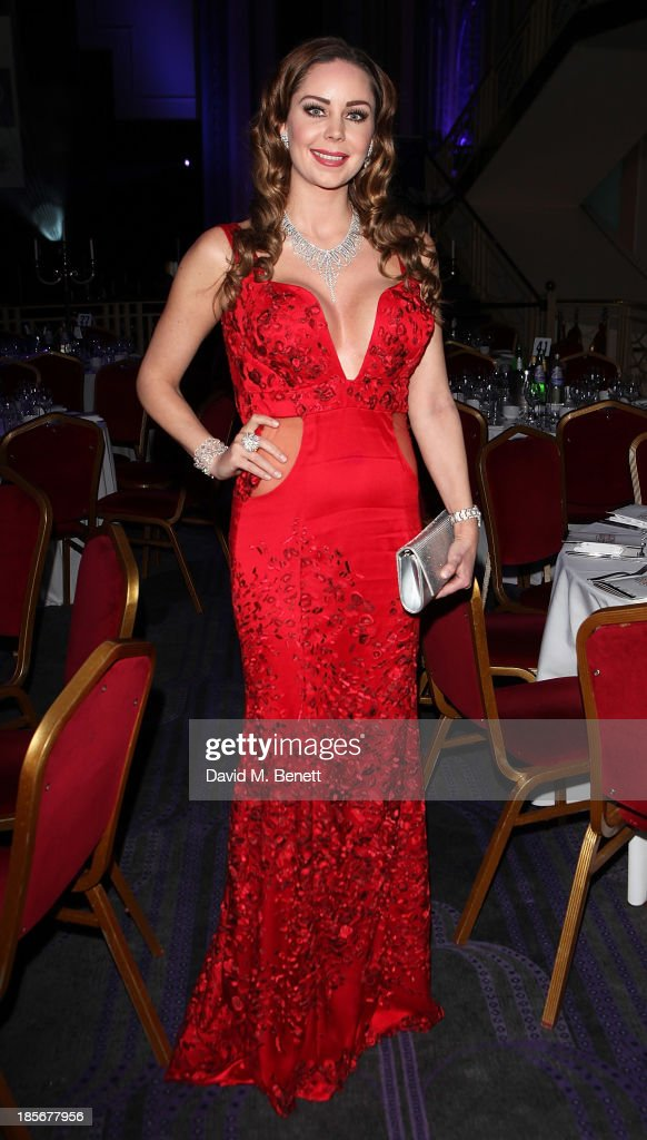 Nina Naustdal attends the London Lifestyle Awards at the Troxy on October 23, 2013 in London, England.