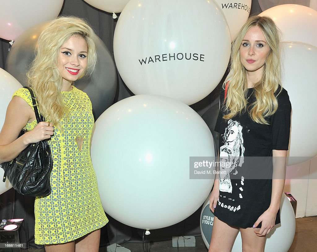 Nina Nesbitt and <a gi-track='captionPersonalityLinkClicked' href=/galleries/search?phrase=Diana+Vickers&family=editorial&specificpeople=5583865 ng-click='$event.stopPropagation()'>Diana Vickers</a> attend the Warehouse Summer Party at The Yard on May 15, 2013 in London, England.