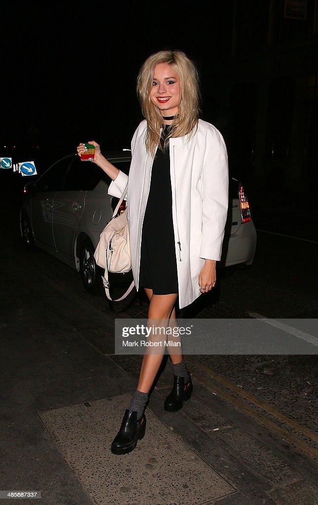 Nina Nesbitt at Steam and Rye bar and restaurant on April 19, 2014 in London, England.