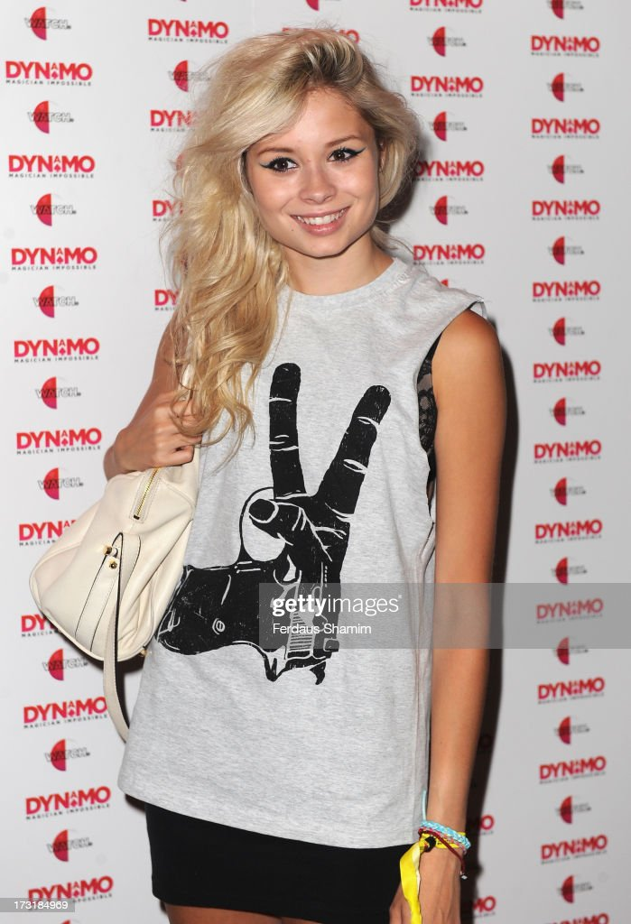 Nina Nesbitt attends as Dynamo performs a secret gig on July 9, 2013 in London, England.