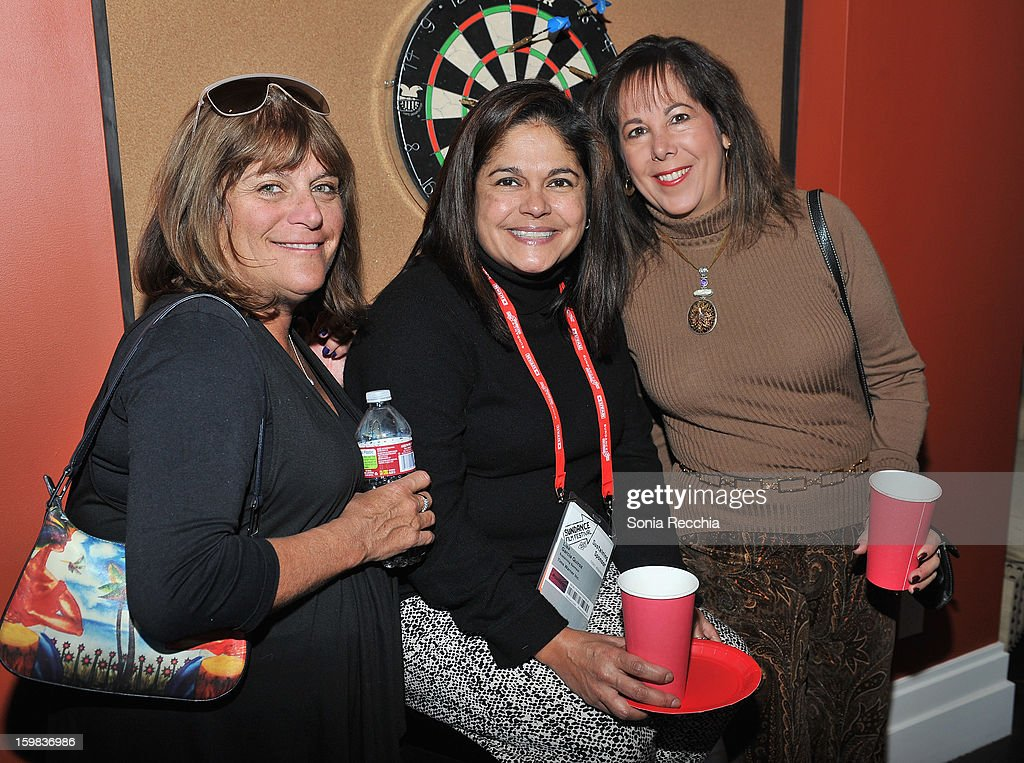 Nina Nisenholtz, Lisa Garcia Quiroz and Hillary Biscoff attend the Women at Sundance Brunch during the 2013 Sundance Film Festival on January 21, 2013 in Park City, Utah.