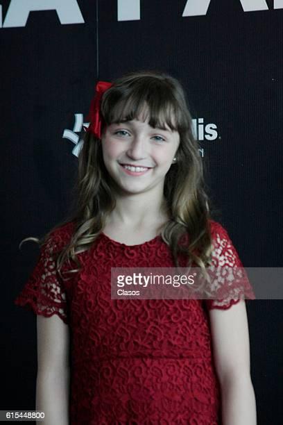 Nina Rubin poses during the presentation of the movie 'La Vida Inmoral de la Pareja Ideal' on October 17 Mexico City Mexico