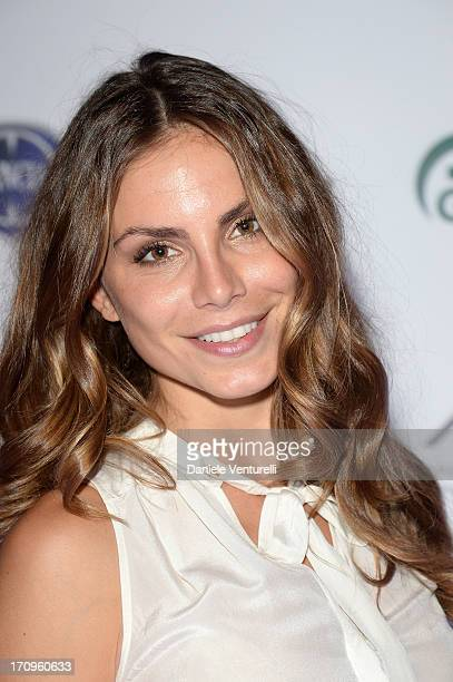 Nina Senicar attends Gala Dinner For Meg Ryan Hosted By Taormina Filmfest And Alviero Martini at La Giara on June 20 2013 in Taormina Italy