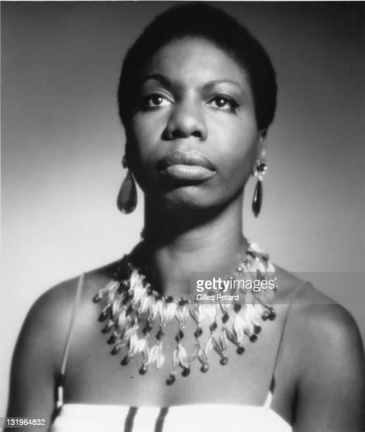 Nina Simone studio portrait USA 1970