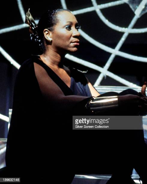 Nina Simone US jazz singer and pianist during a live concert performance circa 1975