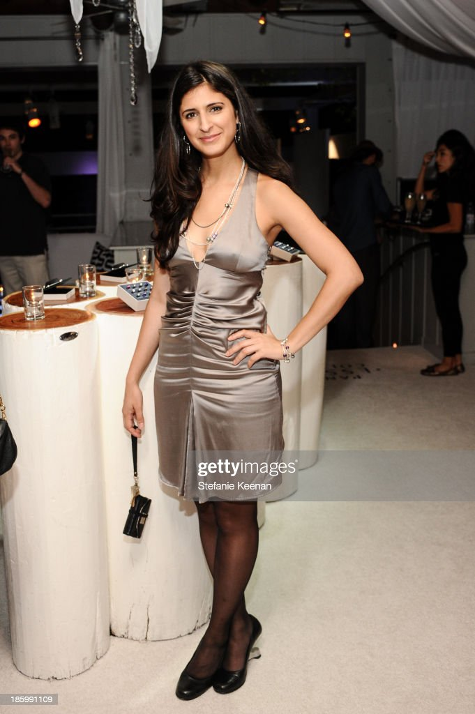 Nina Tandon attends PANDORA ESSENCE COLLECTION North America Launch Party at SkyBar at the Mondrian Los Angeles on October 26, 2013 in West Hollywood, California.
