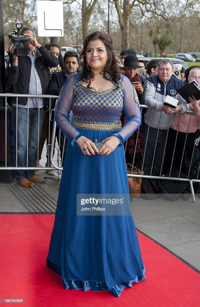 <a gi-track='captionPersonalityLinkClicked' href=/galleries/search?phrase=Nina+Wadia&family=editorial&specificpeople=3025535 ng-click='$event.stopPropagation()'>Nina Wadia</a> attends The Asian Awards at Grosvenor House, on April 16, 2013 in London, England.