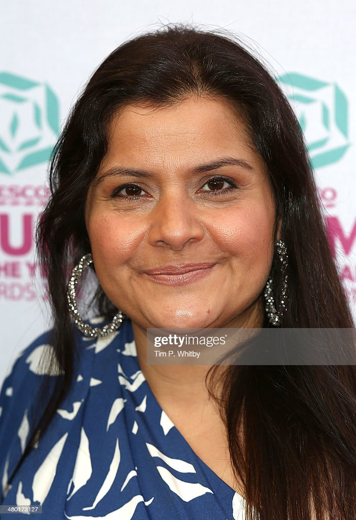 <a gi-track='captionPersonalityLinkClicked' href=/galleries/search?phrase=Nina+Wadia&family=editorial&specificpeople=3025535 ng-click='$event.stopPropagation()'>Nina Wadia</a> attends the Tesco Mum of the Year awards at The Savoy Hotel on March 23, 2014 in London, England.