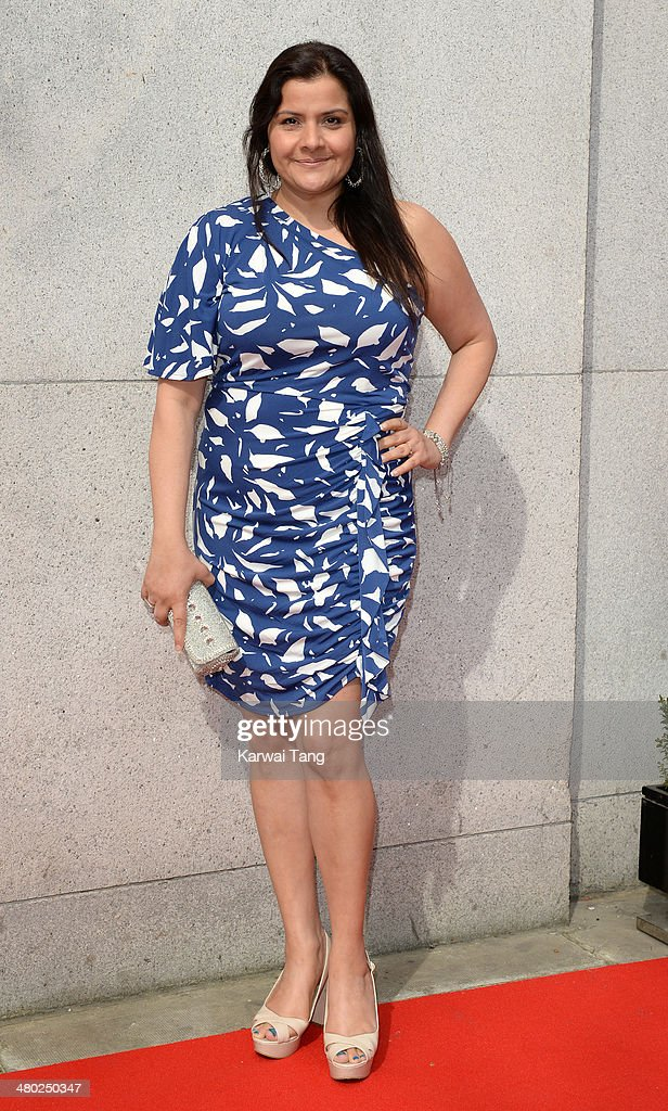 Nina Wadia attends the Tesco Mum of the Year awards at The Savoy Hotel on March 23, 2014 in London, England.