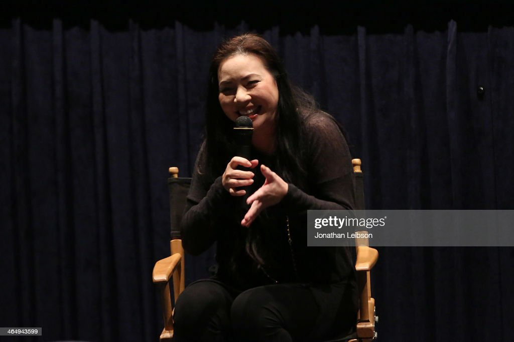 Nina Yang Bongiovi attends the Spirit Award Nominee Screening And QA Of 'Fruitvale Station' With Nina Yang Bongiovi at Regal Cinemas LA Live on...