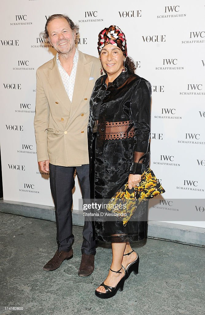 Nina Yashar (R) and guest attend Vogue and IWC present 'Peter Lindbergh's Portofino'at 10 Corso Como on May 12, 2011 in Milan, Italy.
