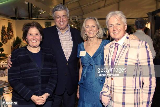 Nina Zagat Tim Zagat Barbara Israel and Alan Grey attend The 18th Annual Antique Garden Furniture Show Preview Party Collector's Plant Sale at The...