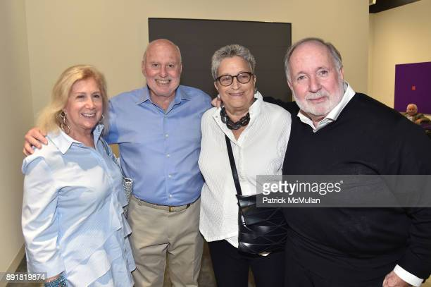Ninah Lynne Michael Lynne Pam Lehman and Arnold Lehman attend Art Basel Miami Beach Private Day at Miami Beach Convention Center on December 6 2017...
