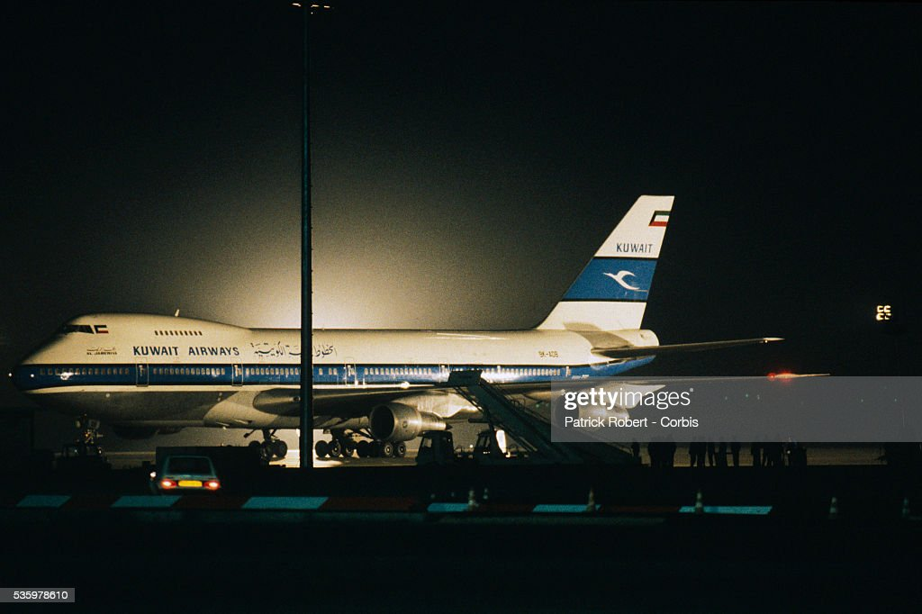 Nine Shiite gunmen hijack Kuwait Airways flight 422, a Boeing 747-200 passenger airplane, en route from Thailand to Kuwait, on April 5, 1988. There were two hostage fatalities among the more than 110 passengers during the 16-day-long hijacking, which ended on April 20, 1988 in Algiers.