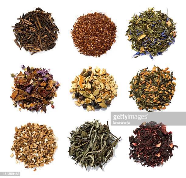 Nine teas