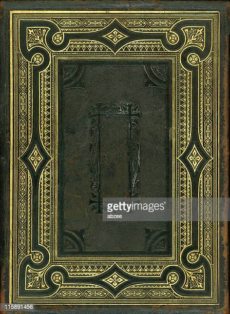 Nineteenth Century bible back cover