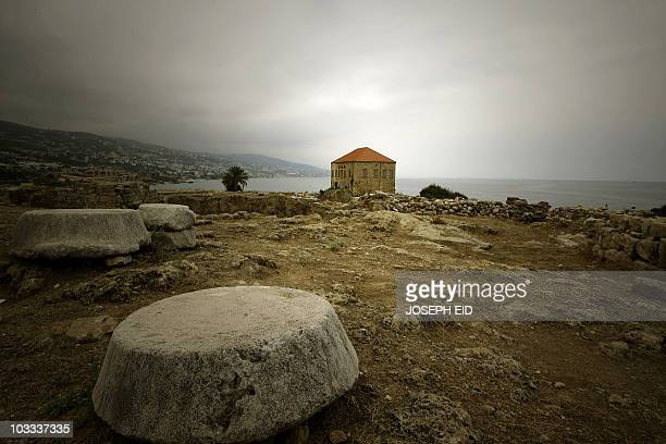 A nineteenth century house still stands near the Crusaders' Citadel in the Lebanese ancient port city of Byblos on August 10 2010 AFP PHOTO/JOSEPH EID