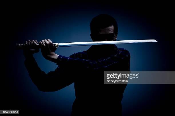 Ninja in the Dark (colour)