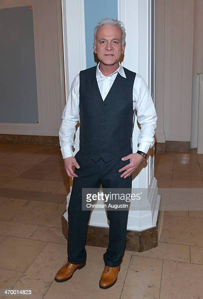 Nino de Angelo attends Liz Malraux Fashion Show at Hotel Atlantic on February 17 2014 in Hamburg Germany