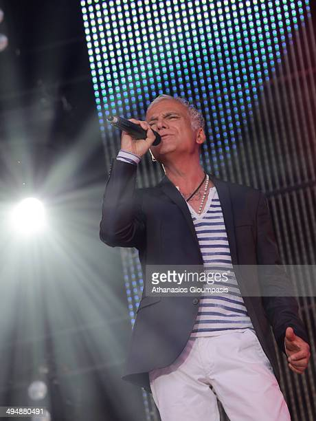 Nino de Angelo performs live during a concert at the 'Die 150 SchlagerStarparde' on May 31 2014 in Berlin Germany
