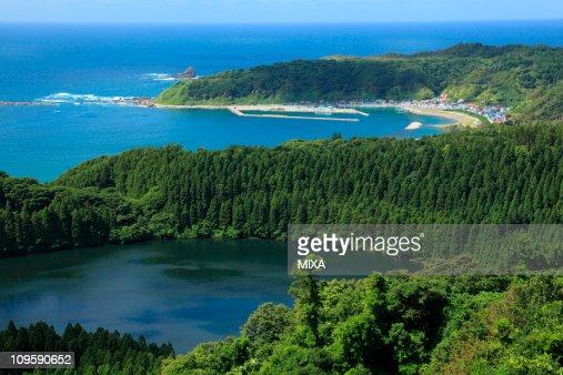 Ninomegata and Toga Bay, Oga, Akita, Japan