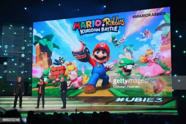 Nintendo coRepresentative Director and Creative Fellow Shigeru Miyamoto and Ubisoft Cofounder and CEO Yves Guillemot talk about 'Mario Rabbids...