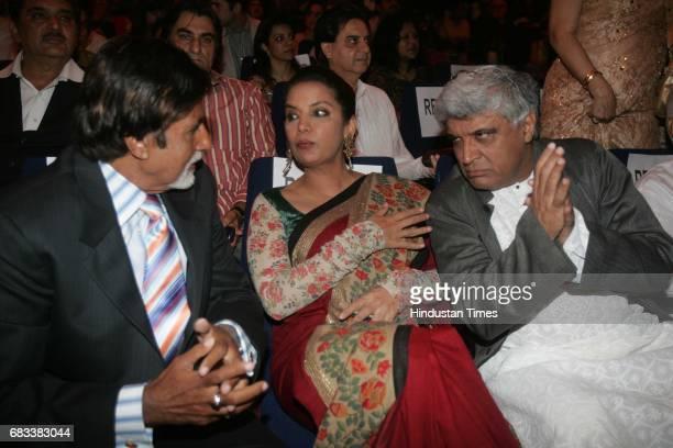 Ninth International Mumbai Film Festival Amitabh Bachchan Shabana Azmi and Javed Akhtar on Thursday