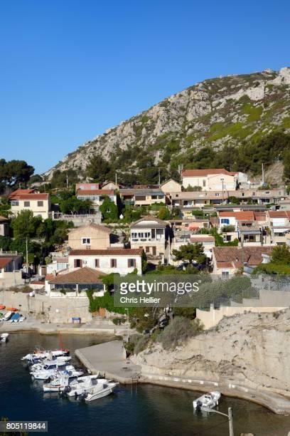 Niolon Calanque, Cove, Port or Seaside Village on the Côte Bleu near Marseille