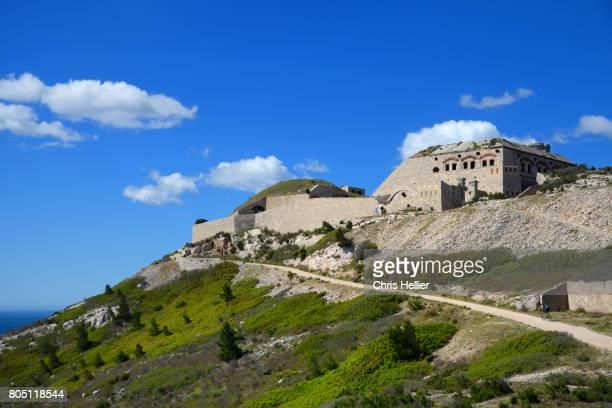 Niolon Fort (1860-1880) near Marseille Provence