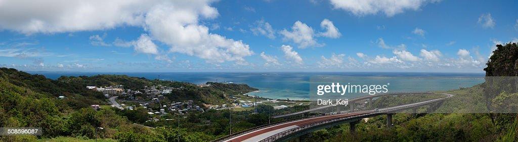 Niraikanai Bridge | Okinawa : Foto de stock