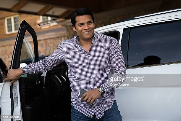 Nirav Tolia chief executive officer of Nextdoor attends the annual Allen Company Sun Valley Conference July 5 2016 in Sun Valley Idaho Every July...