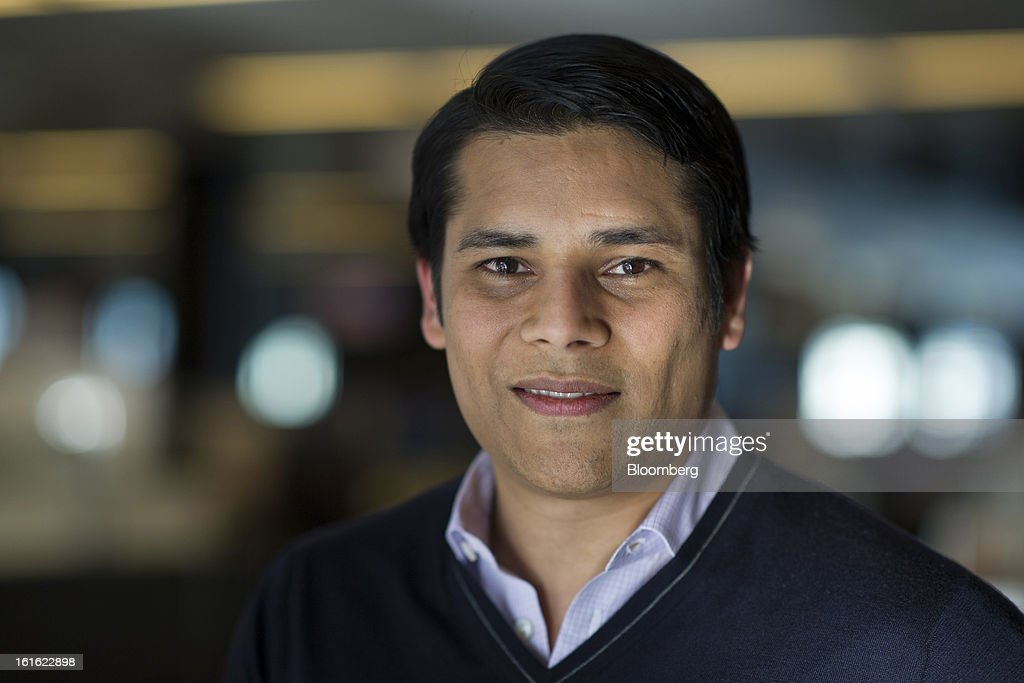 Nirav Tolia, co-founder and chief executive officer of Nextdoor.com Inc., stands for a photograph after a Bloomberg West Television interview in San Francisco, California, U.S., on Tuesday, Feb. 12, 2013. Tolia said the company isn't trying to make money yet because it's focused on attracting more users. Photographer: David Paul Morris/Bloomberg via Getty Images