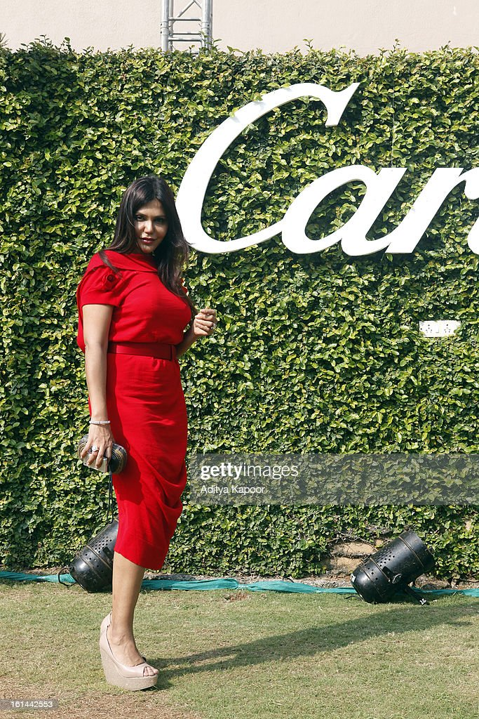 Nisha Jamwal at the Cartier 'Travel With Style' Concours 2013 at Taj Lands End on February 10, 2013 in Mumbai, India.