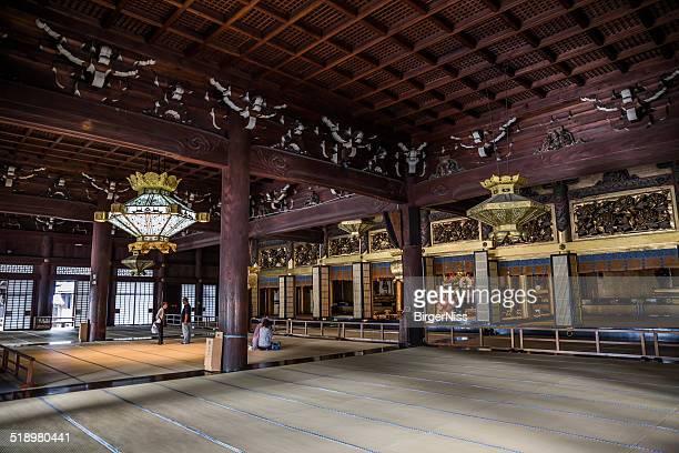 Nishi Hongan-ji temple, Kyoto, Japan