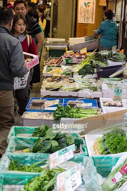 錦絵市場で 京都,Japan