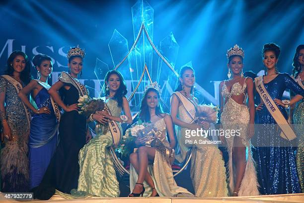 Nissa Katerahong the winner of the Miss Tiffany's Universe transgender beauty contest poses for pictures during The Miss Tiffany Universe contest...